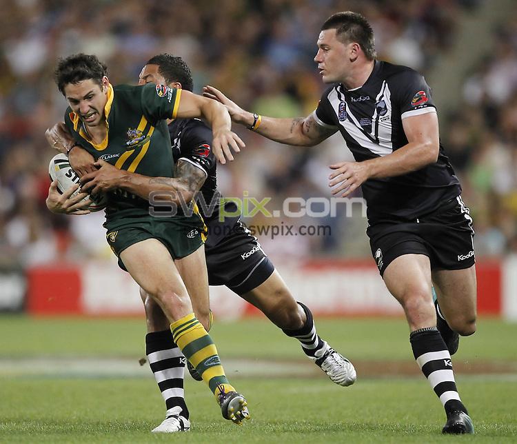 COPYRIGHT PICTURE SIMON WILKINSON SWpix.com.07811 267 606 simon@swpix.com..Billy Slater.Four Nations Rugby League Final - Kangaroos v Kiwis, 13 November 2010 . Photo: Patrick Hamilton/Photosport