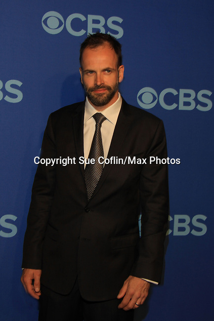 Lucy Liu & Jonny Lee Miller in Elementary at the CBS Upfront on May 15, 2013 at Lincoln Center, New York City, New York. (Photo by Sue Coflin/Max Photos)