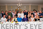 Double 80th Birthdays: Margaret & Bill McKenna, Gortroe, Knocknagoshel, celebrating their 80th birthdays with their children & grand children and extended family at the Listowel Arms Hotel on Saturday night last.