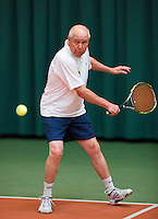 August 22, 2014, Netherlands, Amstelveen, De Kegel, National Veterans Championships, Nico van Cauter (NED)<br /> Photo: Tennisimages/Henk Koster