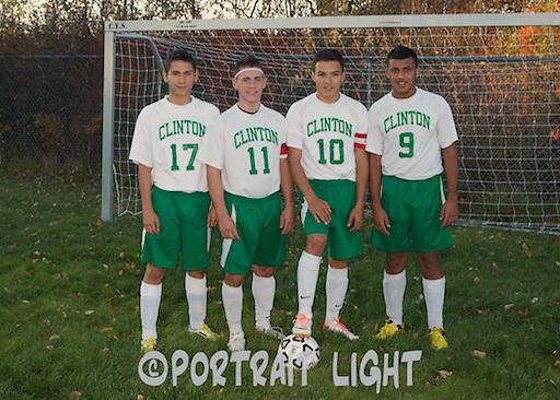 CHS seniors (from left) Helvert Martinez, Ardell Spinder, Igor Rosa and Hasan Sabri.