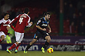 Michael Doughty of Stevenage sets up an attack<br />  - Swindon Town v Stevenage - Johnstone's Paint Trophy - Southern Section Semi-final  - County Ground, Swindon - 10th December, 2013<br />  © Kevin Coleman 2013