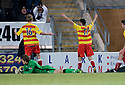 11/01/2011   Copyright  Pic : James Stewart.sct_jsp012_falkirk_v_partick_th   .:: KRIS DOOHLAN CELEBRATES AFTER HE SCORES THISTLE'S LATE EQUALISER ::.James Stewart Photography 19 Carronlea Drive, Falkirk. FK2 8DN      Vat Reg No. 607 6932 25.Telephone      : +44 (0)1324 570291 .Mobile              : +44 (0)7721 416997.E-mail  :  jim@jspa.co.uk.If you require further information then contact Jim Stewart on any of the numbers above........