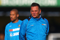 Sutton manager Paul Doswell during Cambridge United vs Sutton United , Emirates FA Cup Football at the Cambs Glass Stadium on 5th November 2017