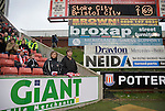 Stoke City 2 Bristol City 1, 19th April 2008. Anxious Stoke fans following Bristol Citys goal.Photo by Paul ThompsonStoke City 2 Bristol City 1, 19/04/2008. 	Britannia Stadium, Championship. Photo by Paul Thompson.