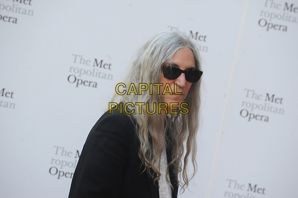 NEW YORK, NY - SEPTEMBER 25: Patti Smith  attends Metropolitan Opera Opening Night Gala at Lincoln Center on September 25, 2017 in New York City.<br /> CAP/MPI122<br /> &copy;MPI122/Capital Pictures