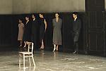 BANDONEON (1980)....Choregraphie : BAUSCH Pina..Costumes : CITO Marion..Decor : HABBEN Gralf-Edzard..Lumieres : Fernando Jacon..Dramaturgie : Raimund Hoghe..Avec :..BEREZIN Andrey..FARIAS Silvia..FORSTER Lutz..JASIJFI Ditta Miranda..MAURIN Melanie..MERCY Dominique..MERCY Thesnelda..MERIGHI Pascal..MORGANTI Cristina..PANADERO Nazareth..PIKON Helena..ARMENTA Jorge Puerta..SASPORTES Jean Laurent..SEYAMA Azusa..STANZAK Julie Anne..MENDOZA Fernando Suels..TAKAGI Kenji..WEHSARG Anna..Lieu : Theatre de la Ville..Ville : Paris..Le : 04 06 2007..© Laurent PAILLIER / photosdedanse.com..All rights reserved