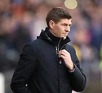 3rd November 2019; Hampden Park, Glasgow, Scotland; Scottish League Cup Football, Rangers versus Heart of Midlothian; Rangers Manager Steven Gerrard - Editorial Use