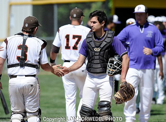 Pioneer High School vs Grand Ledge High School MHSAA Baseball Regional at Grand Ledge High School.