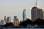 View from the Chao Phraya of Bangkok, Thailand