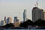 View from the Chao Phraya of Bangkok, Thailand