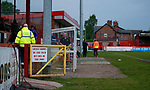 General view of the stadium during the U18 Premier League Merit Group A match at The J Davidson Stadium, Altrincham. Date 12th May 2017. Picture credit should read: Simon Bellis/Sportimage