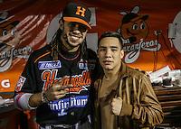 Oscar Valdez en Naranjeros