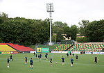 FK Trakai v St Johnstone…05.07.17… Europa League 1st Qualifying Round 2nd Leg<br />St Johnstone training at the LFF Stadium in Vilnius, Lithuania pictured during the session<br />Picture by Graeme Hart.<br />Copyright Perthshire Picture Agency<br />Tel: 01738 623350  Mobile: 07990 594431
