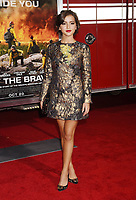 WESTWOOD, CA - OCTOBER 08: Actress Isabela Moner arrives at the Premiere Of Columbia Pictures' 'Only The Brave' at Regency Village Theatre on October 8, 2017 in Westwood, California.<br /> CAP/ROT/TM<br /> &copy;TM/ROT/Capital Pictures