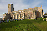 Historic fifteenth century architecture of Holy Trinity church, Blythburgh, Suffolk, England