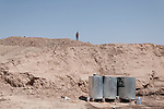 20/07/14  Iraq -- Daquq, Iraq -- Water tanks outside the peshmerga base in Daquq.