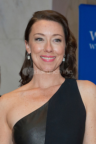Molly Parker arrives for the 2014 White House Correspondents Association Annual Dinner at the Washington Hilton Hotel on Saturday, May 3, 2014.<br /> Credit: Ron Sachs / CNP<br /> (RESTRICTION: NO New York or New Jersey Newspapers or newspapers within a 75 mile radius of New York City) /MediaPunch