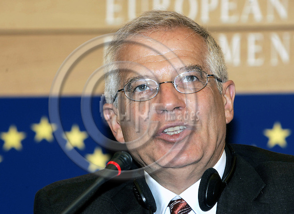 STRASBOURG - FRANCE - 21JULY 2004 -- EU-Parliament session in Strassbourg.--Josep BORRELL (Esp/PSE), the President of the EU-Parliament. -- PHOTO: JUHA ROININEN / EUP-IMAGES