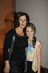 """Marcia Gay Harden and daughter Eulala at The Fourteenth Annual Hearts of Gold Gala """"Hooray for Hollywood!"""" - with its mission to foster sustainable change in lifestyle and levels of self-sufficiency for homeless mothers and their children on October 28, 2010 at the Metropolitan Pavillion, New York City, New York. (Photo by Sue Coflin/Max Photos)"""