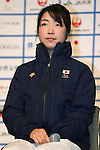 Shoko Ota (JPN), DECEMBER 24, 2013 - Cross Country Skiing : Sochi Paralympics Japanese team first-order announcement press conference at Nihonbashi Hamacho F Tower Plaza, Tokyo, Japan. (Photo by AFLO SPORT)