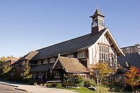 St. Mary's Kerrisdale Anglican Church, Vancouver, British Columbia, Canada. This church and joining hall are designated heritage buildings.