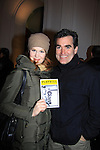 "The City's Brian D'Arcy James (and now on Smash) and Kate Baldwin star in off Broadway's ""Giant"" on December 15, 2012 at The Public Theatre, New York City, New York. (Photo by Sue Coflin/Max Photos)"