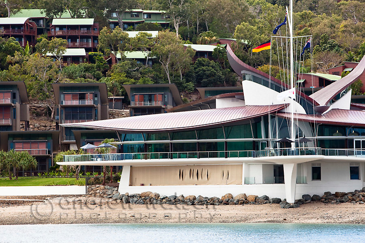 Hamilton Island Yacht Club and Villas.  Hamilton Island, Whitsundays, Queensland, Australia