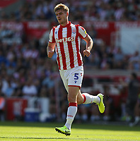 Stoke City's Liam Lindsay <br /> <br /> Photographer Stephen White/CameraSport<br /> <br /> The Premier League - Stoke City v Leeds United - Saturday August 24th 2019 - bet365 Stadium - Stoke-on-Trent<br /> <br /> World Copyright © 2019 CameraSport. All rights reserved. 43 Linden Ave. Countesthorpe. Leicester. England. LE8 5PG - Tel: +44 (0) 116 277 4147 - admin@camerasport.com - www.camerasport.com