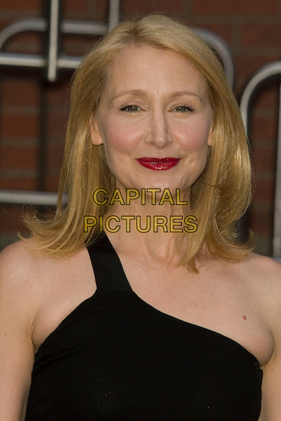 "PATRICIA CLARKSON .New York screening of ""Elegy"".at the Tribeca Grand Hotel, New York, NY, USA, August 5, 2008..portrait headshot red lipstick black one shoulder strap .CAP/LNC/TOM.©LNC/Capital Pictures"