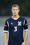 01 October 2013: UNCW's Michael Mecham. The Duke University Blue Devils hosted the University of North Carolina Wilmington Seahawks at Koskinen Stadium in Durham, NC in a 2013 NCAA Division I Men's Soccer match. UNCW won the game 2-1.