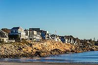 Waterfront houses, York Maine, USA