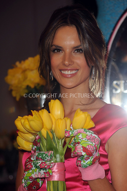 WWW.ACEPIXS.COM . . . . . ....April 24 2010, New York City....Victoria's Secret Angel Alessandra Ambrosio at the Victoria's Secret Beauty Heavenly Flowers launch at Victoria's Secret Soho on April 24, 2010 in New York City.....Please byline: KRISTIN CALLAHAN - ACEPIXS.COM.. . . . . . ..Ace Pictures, Inc:  ..(212) 243-8787 or (646) 679 0430..e-mail: picturedesk@acepixs.com..web: http://www.acepixs.com