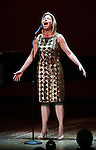 Marin Mazzie.performing in 'Angela Lansbury and Friends Salute Terrence McNally' - A Benefit for the Acting Company in New York City.