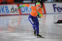 SCHAATSEN: BERLIJN: Sportforum, Essent ISU World Cup Speed Skating | The Final, 09-03-2012, 500m Ladies, Laurine van Riessen (NED), ©foto Martin de Jong
