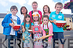 Traditional and new recipes from families in Glenbeigh are now being collected to create a community cookbook which is hoped will be a keepsake for generations to come. <br /> Front L-R Sean Page, Lucy McMahon, Meabh Scannell and Aoife Page. <br /> Back L-R Shirley McMahon, Mary Scannell and Shelia Page.