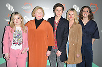 Nicola Coughlan, Siobhan McSweeney, Dylan Llewellyn, Saoirse-Monica Jackson and Louisa Harland at the &quot;Derry Girl&quot; BFI &amp; Radio Times Television Festival screening, BFI Southbank, Belvedere Road, London, England, UK, on Sunday 14th April 2019.<br /> CAP/CAN<br /> &copy;CAN/Capital Pictures