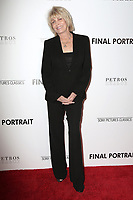 "LOS ANGELES - FEB 19:  Joanna Cassidy at the ""Final Portrait"" Los Angeles Screening at the Pacific Design Center on February 19, 2018 in West Hollywood, CA"