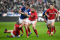 Maxime Medard of France during the NatWest Six Nations match between France and Wales on February 1, 2019 in Paris, France. (Photo by Anthony Dibon/Icon Sport)