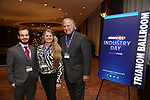 BroadwayHD's Hal Berman, Bonnie Comley and Stewart Lane attend Industry Day during Broadwaycon at New York Hilton Midtown on January 11, 2019 in New York City.