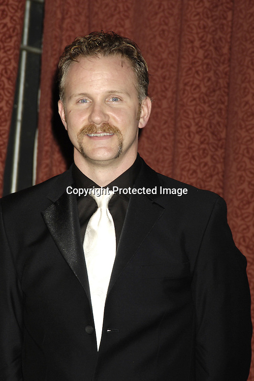 Morgan Spurlock ..in The Press Room  of the 33rd  International Emmy Awards Gala on November 21, 2005 at the New York Hilton. ..Photo by Robin Platzer, Twin Images