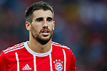 Bayern Munich Midfielder Javi Martinez during the International Champions Cup match between Chelsea FC and FC Bayern Munich at National Stadium on July 25, 2017 in Singapore. Photo by Marcio Rodrigo Machado / Power Sport Images