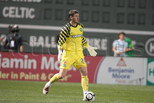 21 JUL 2010:  Celtic's Lukasz Zaluska (24). Celtic defeated  Sporting Clube de Portugal 6-5 on penalty kicks in an international friendly match, part of the Fenway Football Challenge, at Fenway Park in Boston, Massachusetts on July 21, 2010.