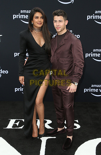 LOS ANGELES, CA - JUNE 3: Priyanka Chopra-Jonas and Nick Jonas at the World Premiere of Jonas Brothers' Chasing Happiness at the Regency Bruin Theater in Los Angeles, California on June 3, 2019. <br /> CAP/MPIFS<br /> ©MPIFS/Capital Pictures