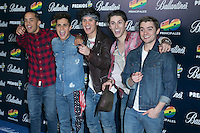 Midnight Red attend the 40 Principales Awards at Barclaycard Center in Madrid, Spain. December 12, 2014. (ALTERPHOTOS/Carlos Dafonte) /NortePhoto