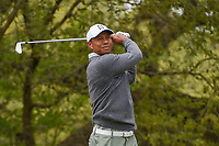 Tiger Woods (USA) watches his tee shot on 10 during day 4 of the WGC Dell Match Play, at the Austin Country Club, Austin, Texas, USA. 3/30/2019.<br /> Picture: Golffile | Ken Murray<br /> <br /> <br /> All photo usage must carry mandatory copyright credit (© Golffile | Ken Murray)