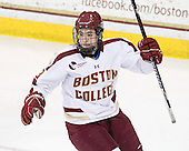Johnny Gaudreau (BC - 13) - The Boston College Eagles defeated the Providence College Friars 7-0 on Saturday, February 25, 2012, at Kelley Rink at Conte Forum in Chestnut Hill, Massachusetts.