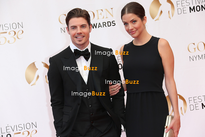 CPE/Josh Henderson and Julie Gonzalo attend the closing ceremony of the 53rd Monte Carlo TV Festival on June 13, 2013 in Monte-Carlo, Monaco.