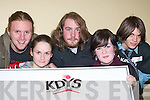 DAIL NA NOG: Attending Dail na nOg in the KDYS Killarney last Thursday night were l-r: Harry Cunningham, Mandy OConnor, Patrick OConnor, Cillian Looney and Shane Scully (all Killarney)..