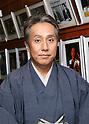 Kabuki Actor Kanzaburo Nakamura Attends Press Conference in Tokyo